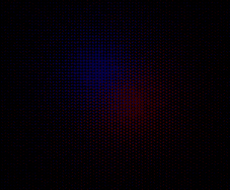 Playing around with grids of colored dots