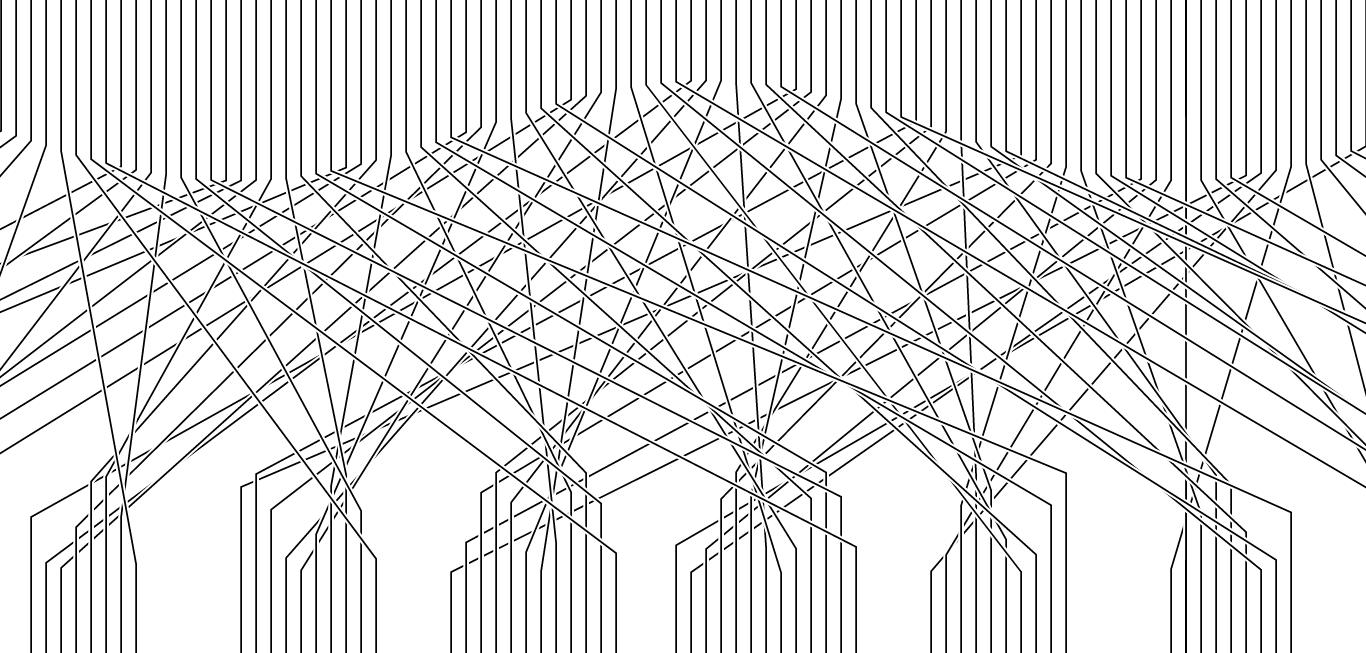 crossing lines modulo